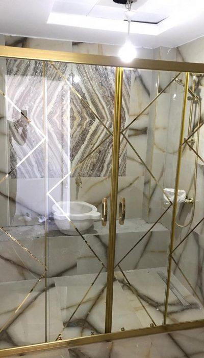 Kayseri duşakabin desenli