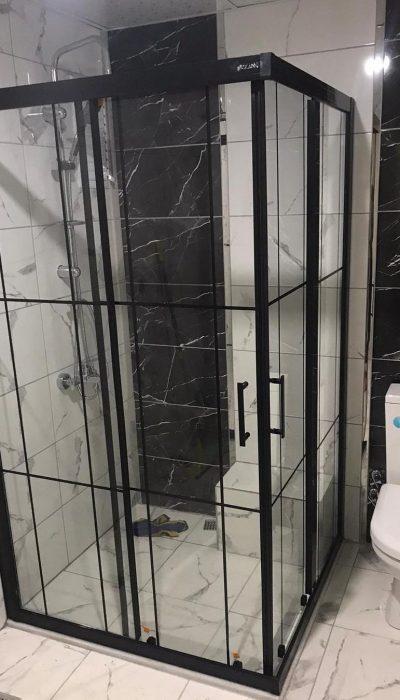 Kayseri duşakabin siyah