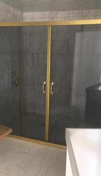 Kayseri duşakabin iki duvar arası